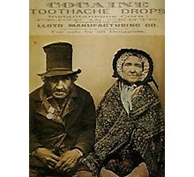 Mother Jones Has A Toothache Photographic Print