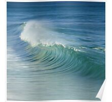 Curling Wave Poster
