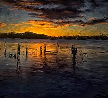 Tranquility - Woy Woy NSW - The HDR Painted Experience by Philip Johnson