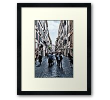 ROME - STREETSCAPE ... (2) Framed Print