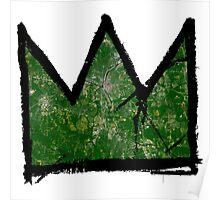 "Basquiat ""King of Raleigh North Carolina"" Poster"