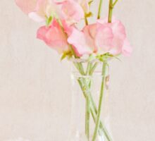 Old Fashioned Sweet Peas Sticker