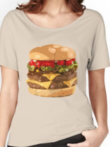 Fat Burger Women's Relaxed Fit T-Shirt