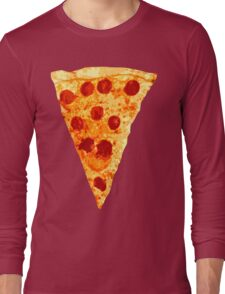 Pizza Slice Long Sleeve T-Shirt