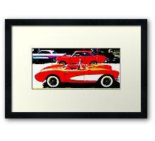 Old Sport Car Framed Print