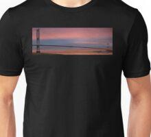 MV Balmoral Passing the Severn Bridge at Sunrise Unisex T-Shirt