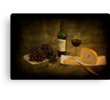 Have a Glass of Red Canvas Print