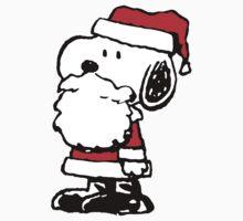 Santa Claus Snoopy by VintageTeeShirt