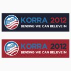 Korra 2012 Decal by Rachael Thomas
