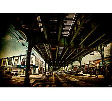 "Under the ""El"" Photographic Print"