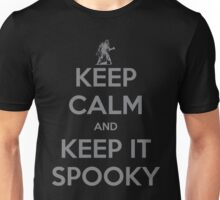 KEEP CALM AND KEEP IT SPOOKY Unisex T-Shirt