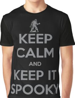 KEEP CALM AND KEEP IT SPOOKY Graphic T-Shirt