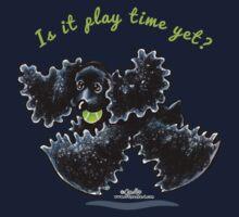 Black Cocker Spaniel :: Playtime Yet Kids Tee