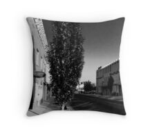 Main Street Tree Throw Pillow
