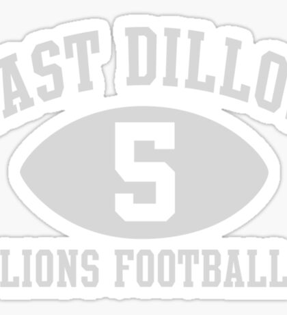 East Dillon Lions #5 Sticker