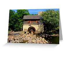 Grant Cuthbert Old Mill Greeting Card