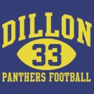 Dillon Panthers Football #33 by pootpoot