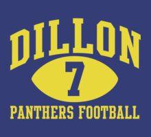 Dillon Panthers Football #7 T-Shirt