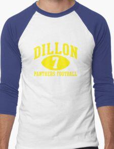 Dillon Panthers Football #7 Men's Baseball ¾ T-Shirt