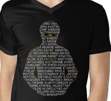 Hashtag Gambino Royalty  Mens V-Neck T-Shirt