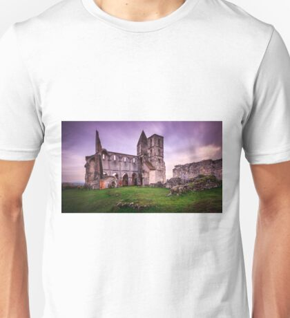 Old church's ruin in Zsambek Unisex T-Shirt