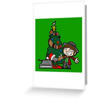 Christmas Doctor! Christmas! Greeting Card