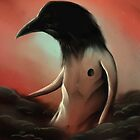 The crow in the cloud by Jacques Marcotte