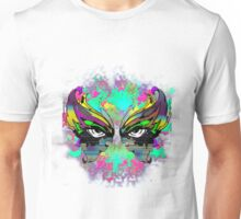 Stunning Abstract Mask  Unisex T-Shirt