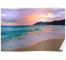 Tortola Seascape  Poster