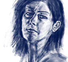 face sketch 1 by rawjawbone