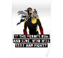 Be a Hero Poster