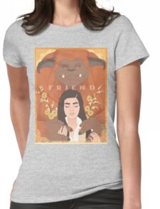 Labyrinth - Ludo, Friend Womens Fitted T-Shirt