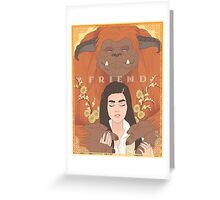 Labyrinth - Ludo, Friend Greeting Card