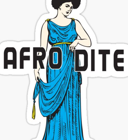 Afro Dite Sticker