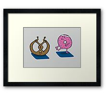 Showoff Framed Print