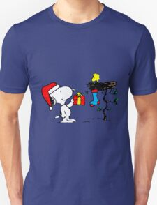 Snoopy and Woodstock Xmas T-Shirt