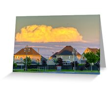 Suburbia 1 Greeting Card