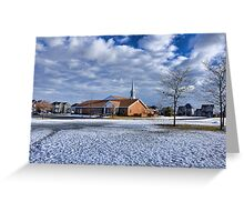 Suburbia 2 Greeting Card