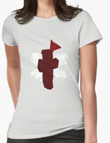 Minecraft Hybrid Theory Soldier Womens Fitted T-Shirt