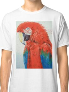 Crimson Macaw Classic T-Shirt