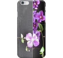 Floral decorations iPhone Case/Skin