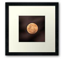 Full Moon July 4 2012 Framed Print