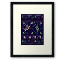 Yoshi's Wooly Wardrobe Framed Print