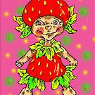 strawberry fairy  by Renata Lombard
