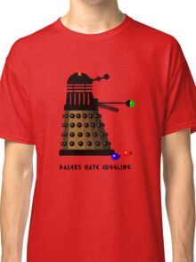 Daleks Hate Juggling... Classic T-Shirt