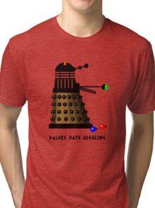 Daleks Hate Juggling... Tri-blend T-Shirt