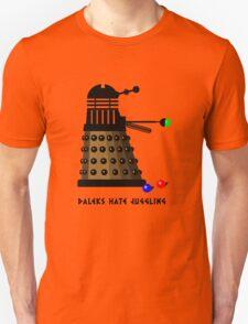 Daleks Hate Juggling... Unisex T-Shirt