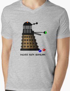 Daleks Hate Juggling... Mens V-Neck T-Shirt
