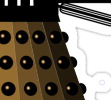 Daleks Hate Juggling... Sticker