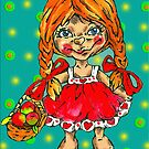 strawberry fairy Mary by Renata Lombard